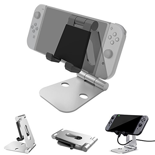 Nintendo Switchスタンド タブレットスタンド スマホスタンド 角度調整可能 iPad/iPhone/Samsung Galaxy/Kindle/Nexus等に対応