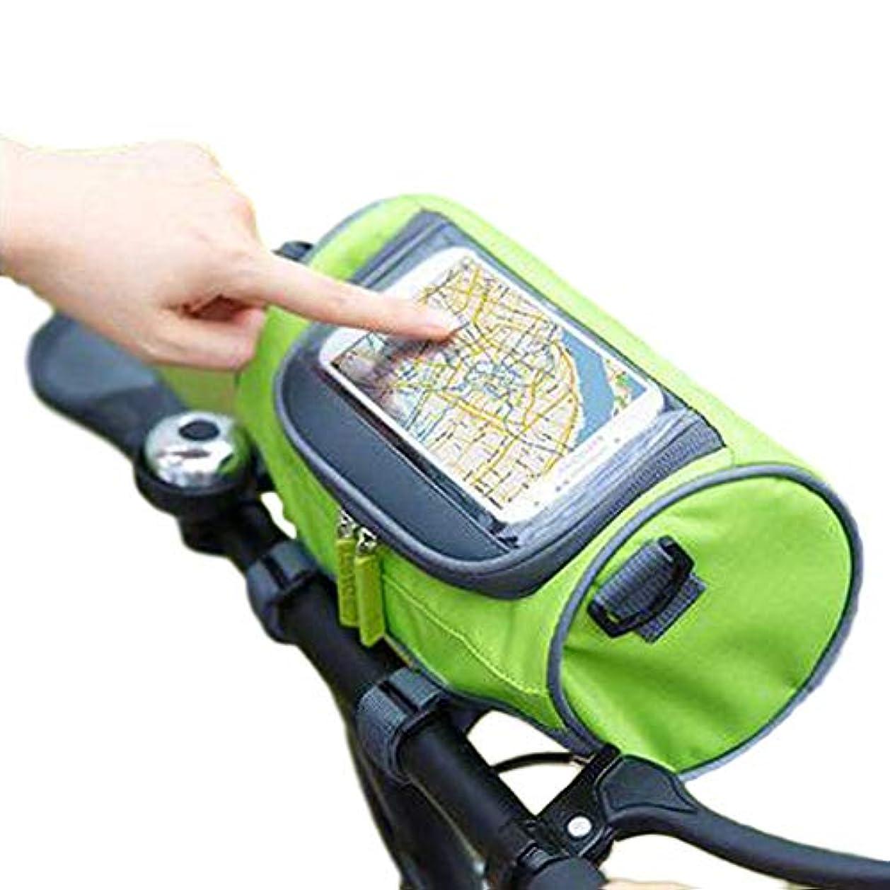 八百屋さん振るう市の中心部Ree バイクパック 防水 携帯電話マウント 4-6.5インチ 敏感なタッチスクリーン ポータブル ロードマウンテン バイク トップチューブ ハンドルバー フロントフレームバッグ 携帯電話ホルダー