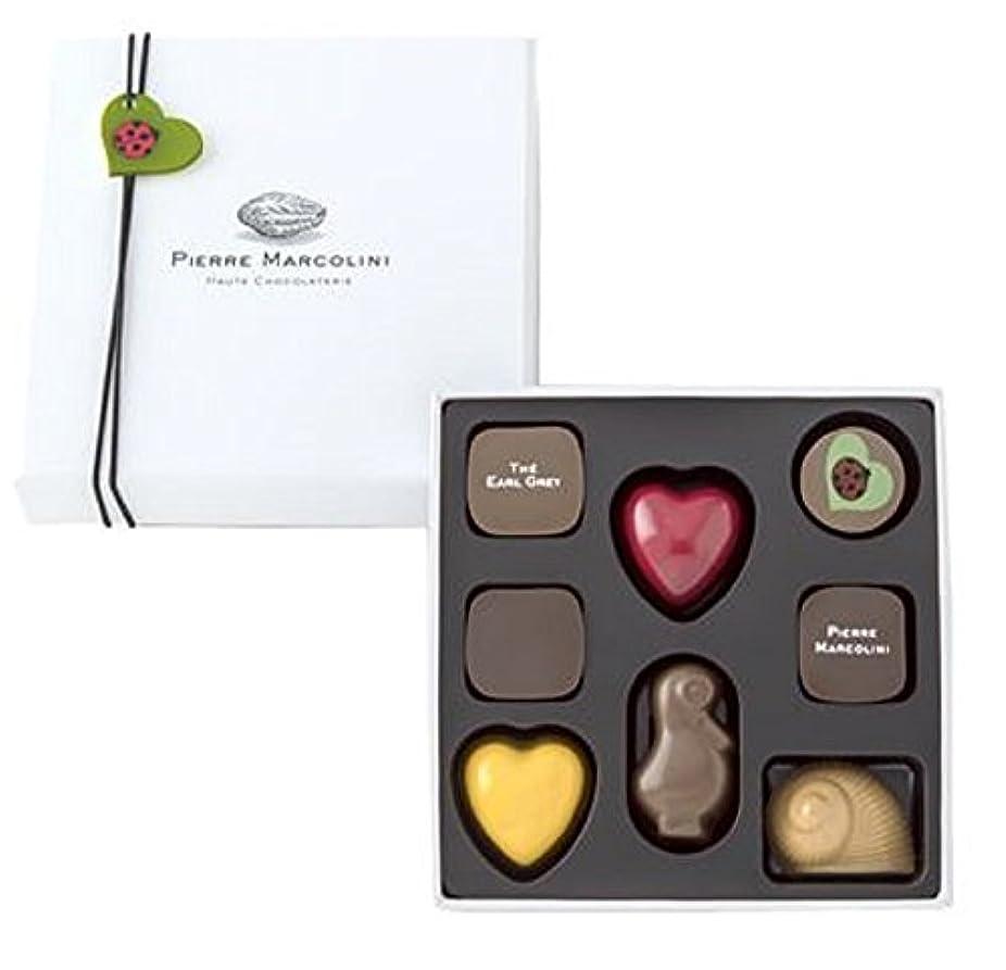 有益撃退する削除するピエールマルコリーニ チョコレート レ バレンタイン セレクション 8個入