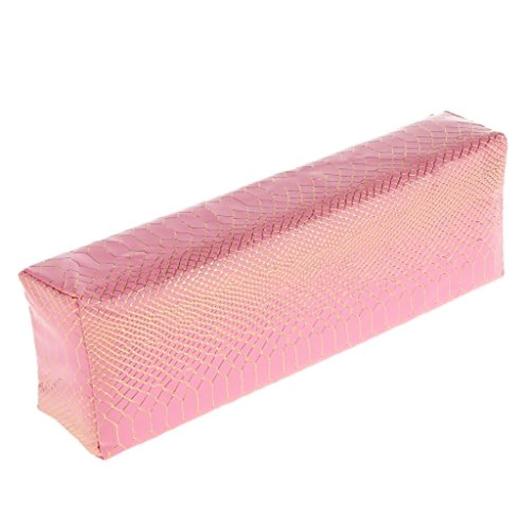 トレーダー暖かく男性Toygogo ソフトハンドクッションピローネイル/アームリストレストクッションホルダー/ネイルアートマニキュアピローマット - ピンク
