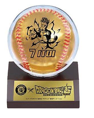 阪神タイガース糸井選手とドラゴンボール超コラボボール