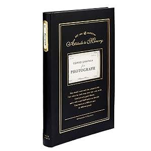 マークス ベーシックアルバム・150ポケット/コルソグラフィア[L判サイズ・150枚収納]/ブラック CG-BAL4-BK