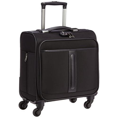 [ビバーシェ] Vivache スーツケース WB-U 横型ブラック 28L 3.3kg ビジネスキャリー WB-U 横型 ブラック (ブラック)