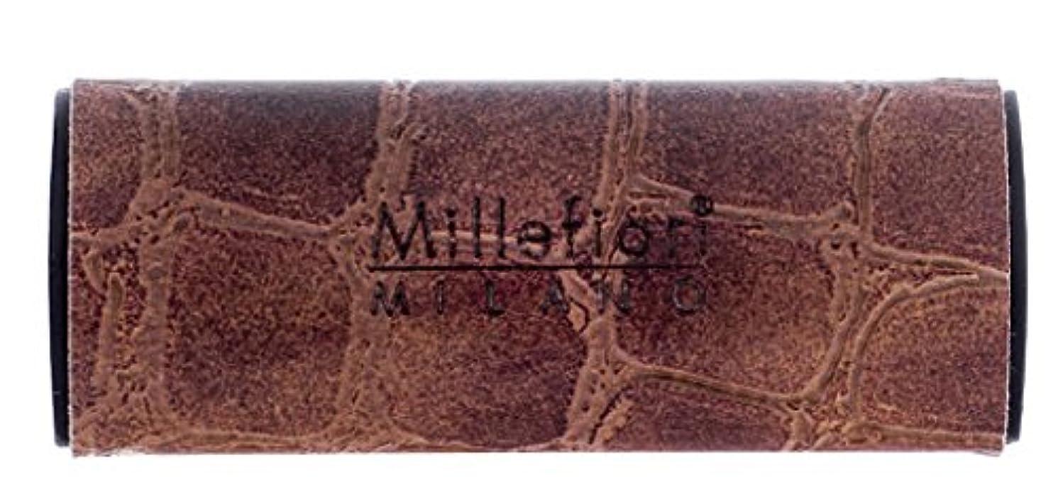 曖昧な適用済みさまようMillefiori カーエアフレッシュナー [SAFARI] オレンジティー CDIF-X-003