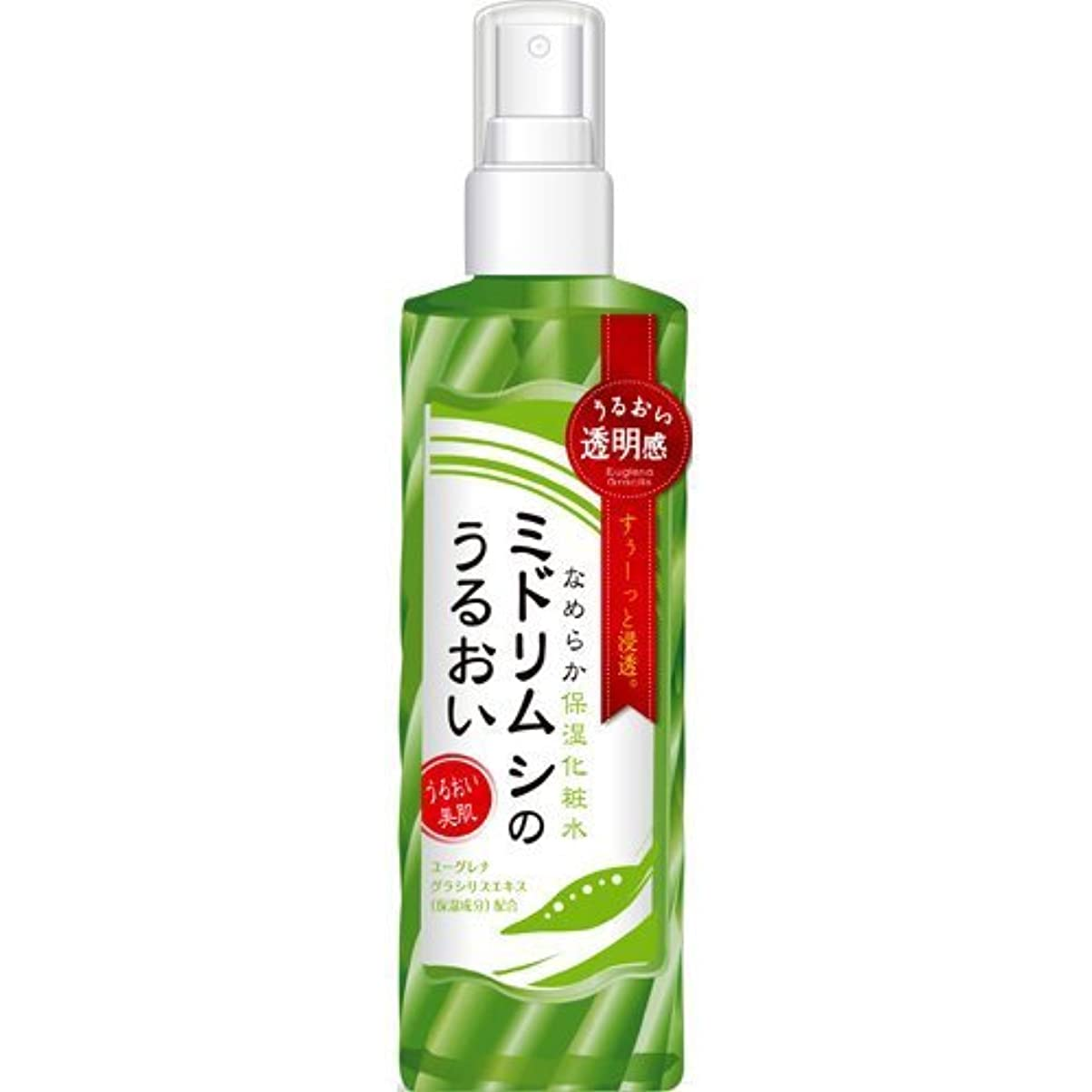 隙間敬意を表してレビュアーミドリムシのうるおい なめらか保湿化粧水 200ml