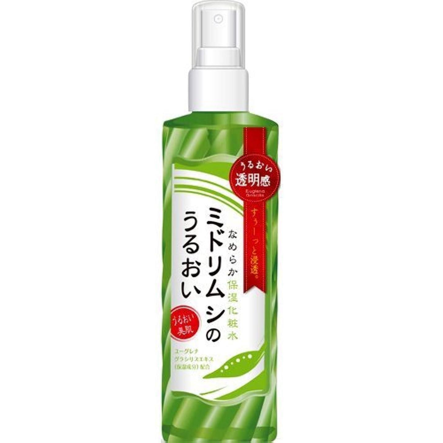 貼り直す鳴らす床ミドリムシのうるおい なめらか保湿化粧水 200ml