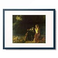 レンブラント・ファン・レイン Rembrandt Harmenszoon van Rijn 「Manoah's Offering」 額装アート作品