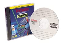 Verbatim 93722 CD-RW 80 Minute, 4x (Single) (Discontinued by Manufacturer) [並行輸入品]