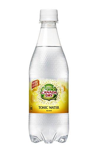 コカ・コーラ カナダドライ トニックウォーター 炭酸水 ペットボトル 500ml×24本