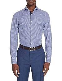 (カナーリ) CANALI メンズ トップス シャツ Slim Fit Dot Dress Shirt [並行輸入品]