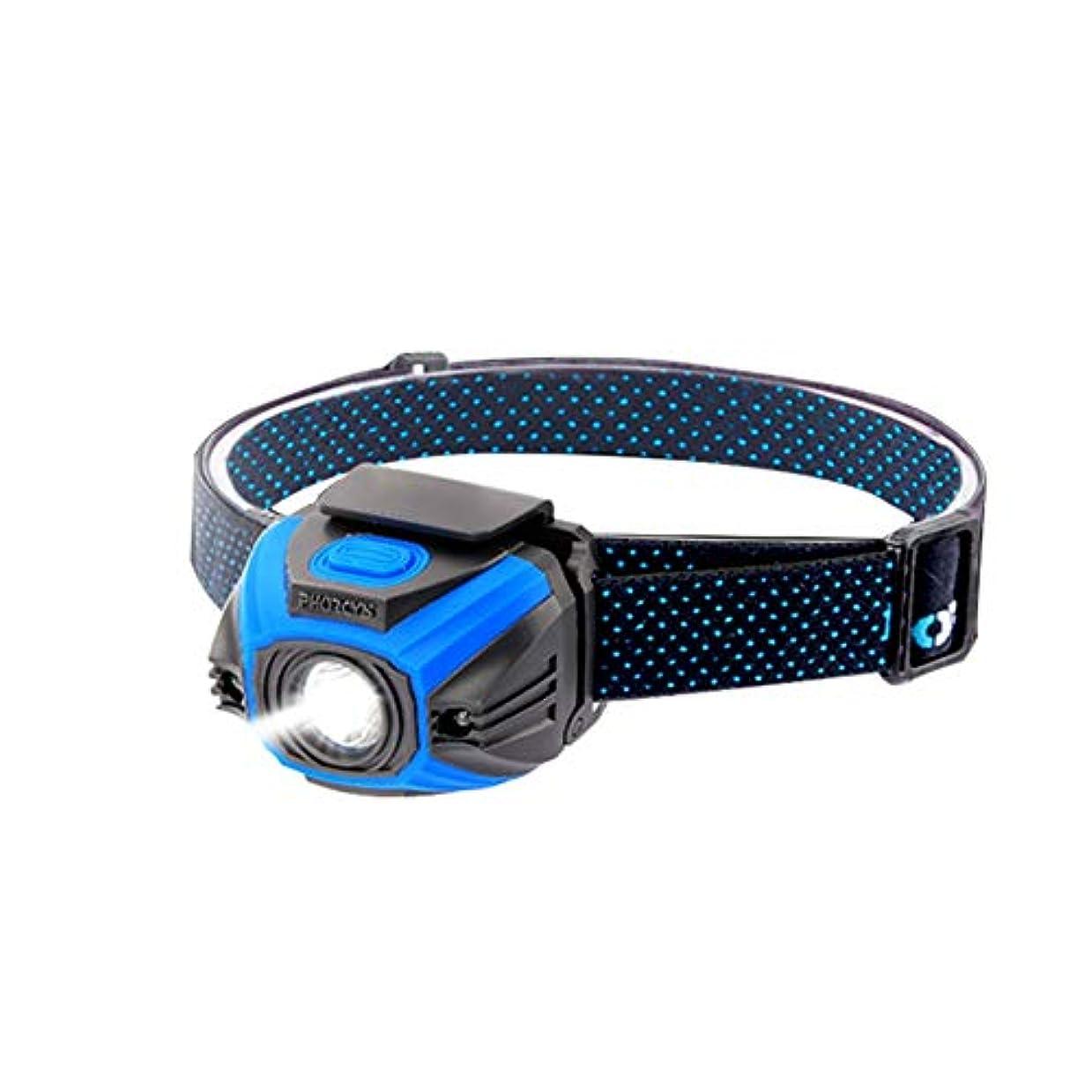 干し草吸う噴水ヘッドライト,多機能屋外登山釣り誘導スーパーブライトヘッドライト