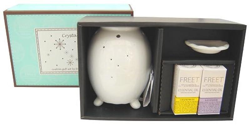中国蜂皿フリート フレアライト クリスタル オイル2本セット グレープフルーツ&ラベンダー