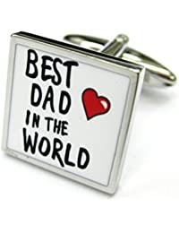 the5thl Best Dad in the Worldカフス父の日Gemelos
