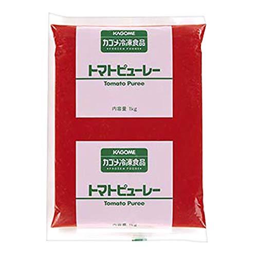 【業務用】 カゴメ 冷凍 トマト ピューレー 1kg ピューレ