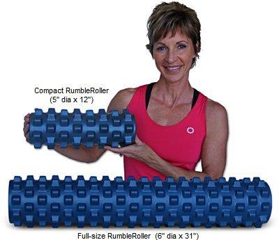 【2サイズセット】ランブルローラー/Rumble Roller トリガーポイント 筋膜リリース ストレッチローラー (スモール/ロング スタンダード)