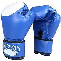 YDXYZ 手袋新しい男性女性10オンスムエタイボクシンググローブ三田女性男性ファイティング土嚢トレーニング恐怖ボクサー機器革ボクシンググローブ (Color : Blue)