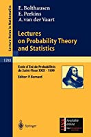 Lectures on Probability Theory and Statistics (Lecture Notes in Mathematics)