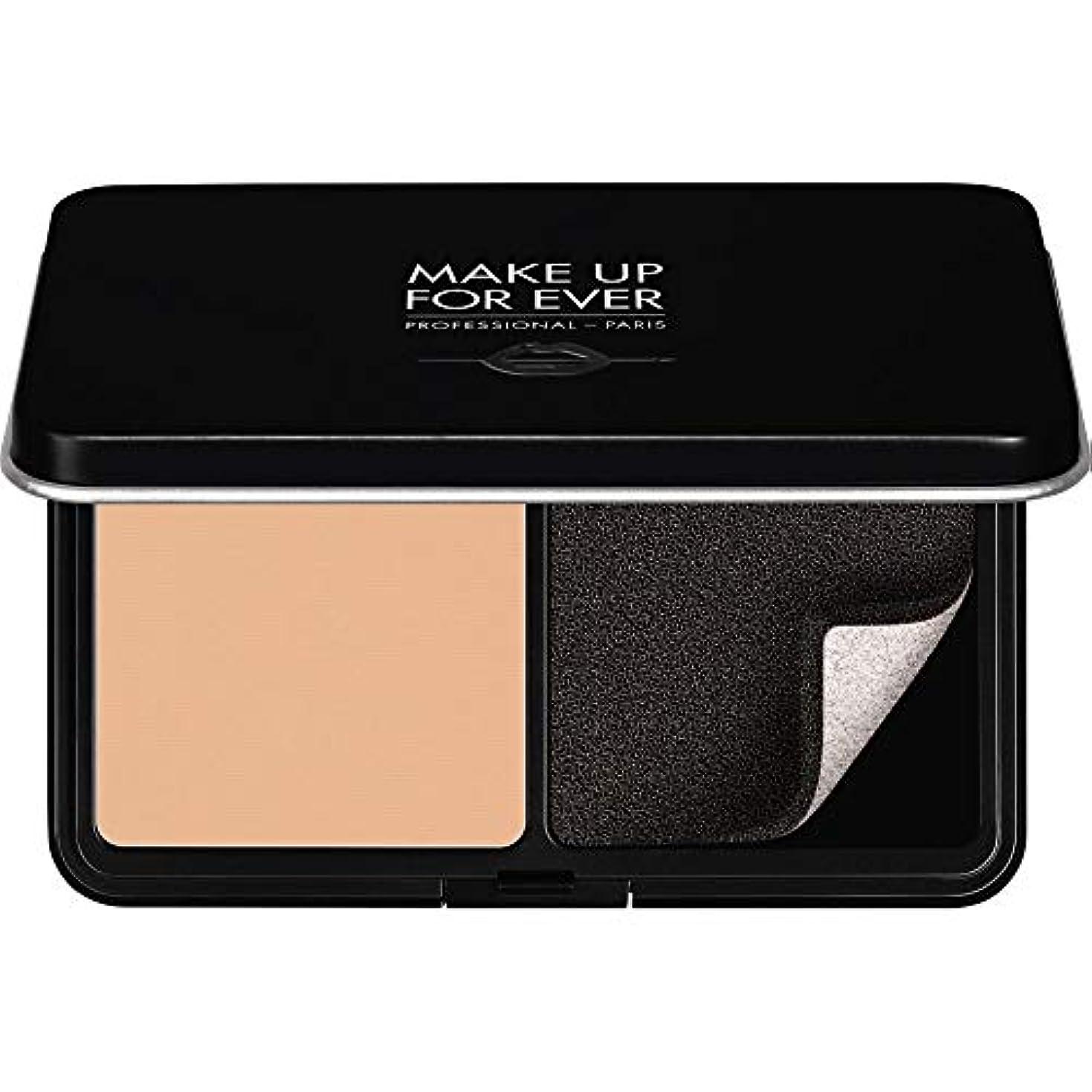 滑り台映画雹[MAKE UP FOR EVER ] パウダーファンデーション11GののR230をぼかし、これまでマットベルベットの肌を補う - アイボリー - MAKE UP FOR EVER Matte Velvet Skin Blurring...