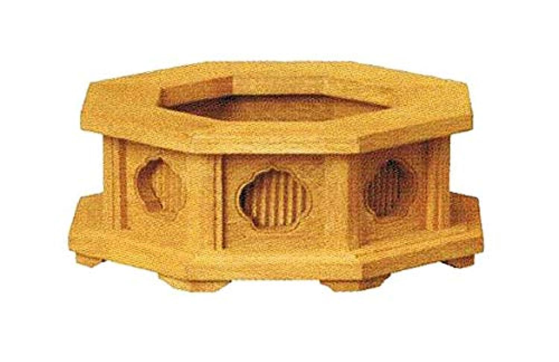 楠製 八角仏像台【中サイズ】幅11.5cm