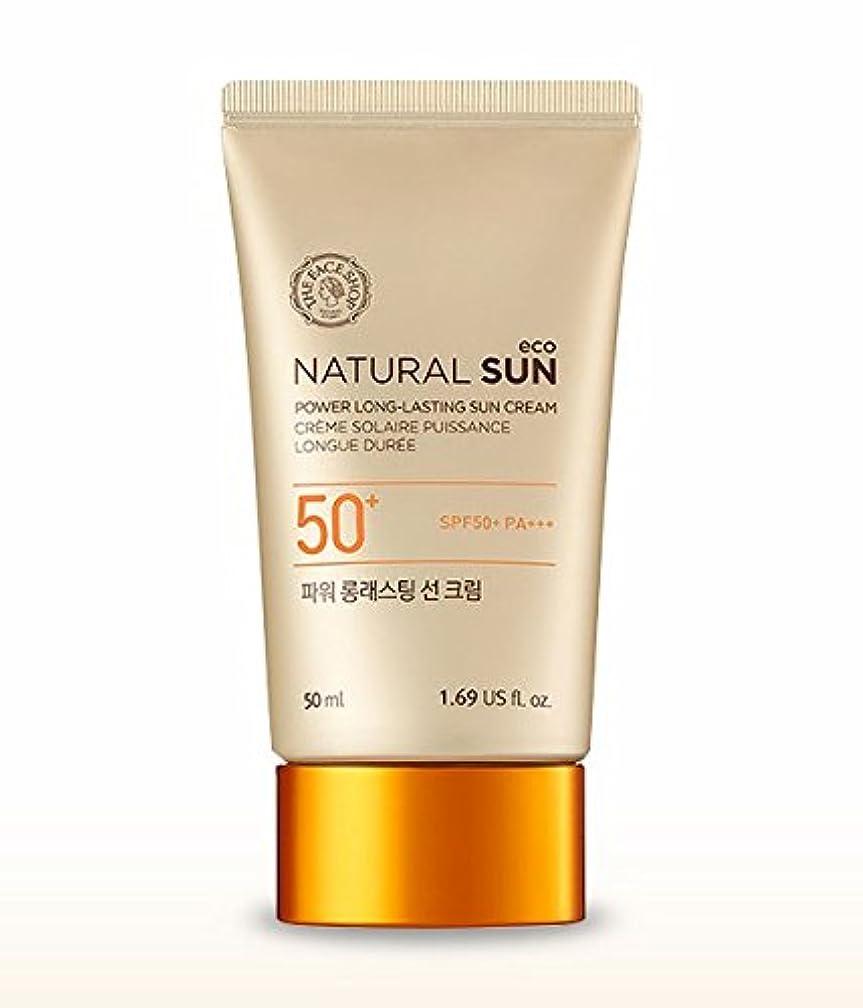 足枷便宜責任THE FACE SHOP Natural Sun Eco Power Long Lasting Sun Cream 50mlザフェイスショップ ナチュラルサンパワーロングラスティングサンクリーム [並行輸入品]