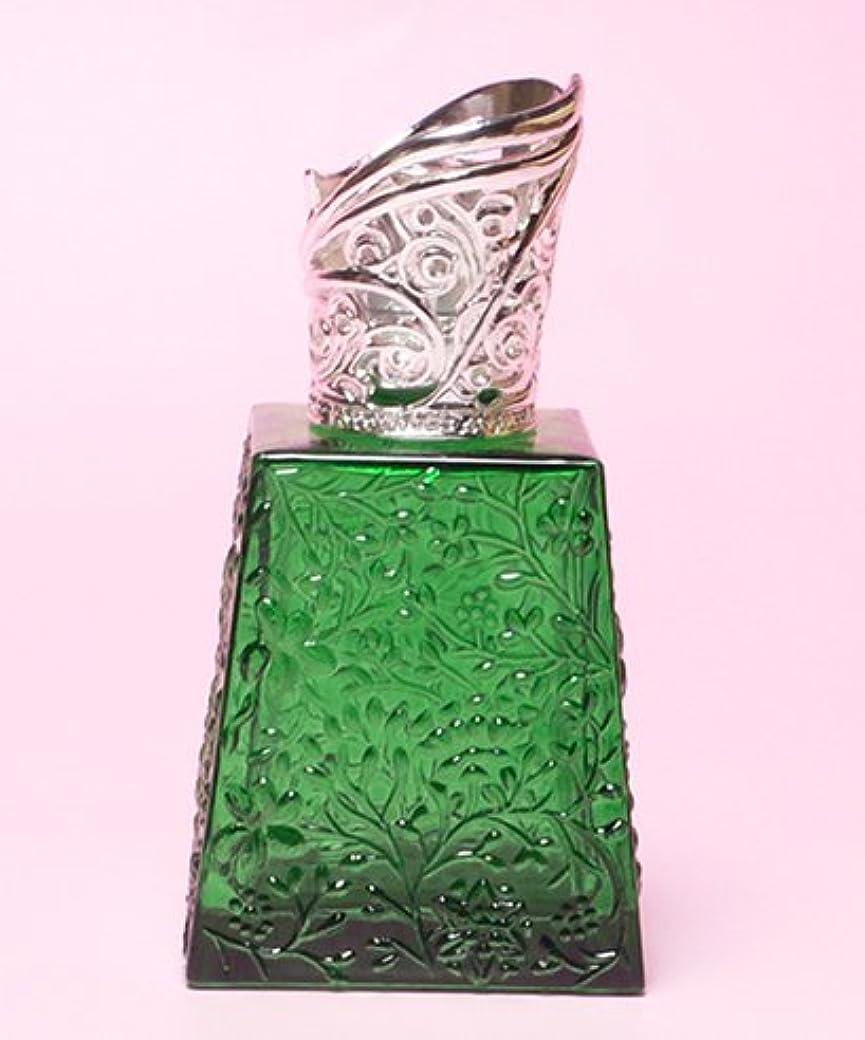 変化する塩辛い減少【ミニランプ】 ミスト MG グリーン ランプベルジェ製アロマオイルでも使用可