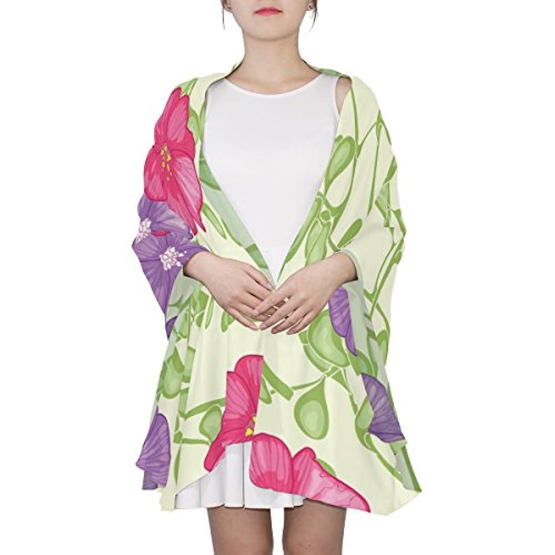 全国叙情的な王室Mikyu(ミクョ)スカーフ レディース 大判 ストール 赤 おしゃれ 花柄 冷房対策 薄手 ギフト 贈り物 母の日 彼女 プレゼント 180cm*90cm