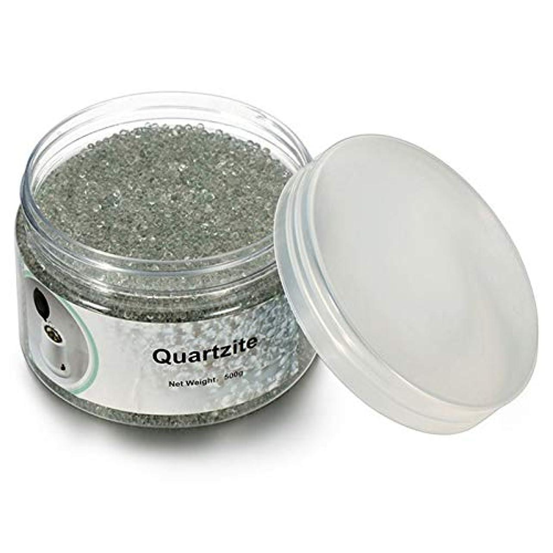 溶接傾斜茎ACAMPTAR 500G石英砂消毒ビーズ、理髪と美容ネイルツールの消毒用