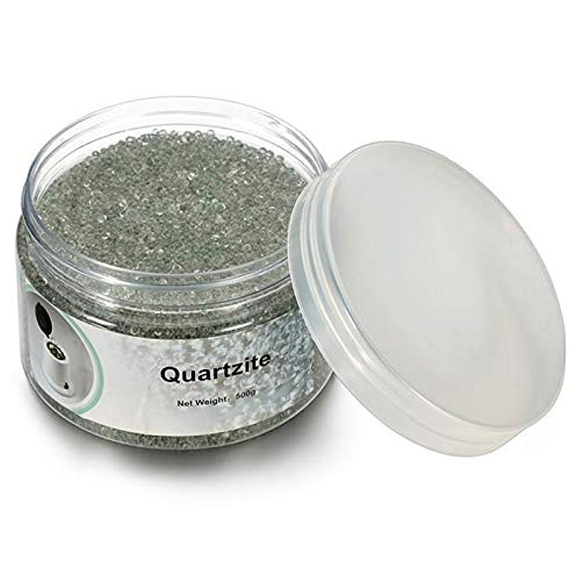 ラッチ結晶最後にACAMPTAR 500G石英砂消毒ビーズ、理髪と美容ネイルツールの消毒用