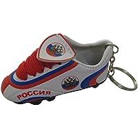 Football Soccer Futbol Mini Shoeキーチェーンキーリング – アジア&アフリカ(国:ロシア)