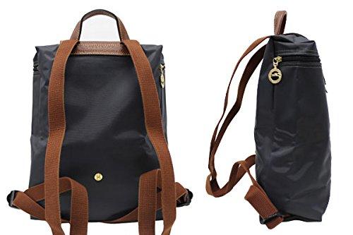 638d30035dab LONGCHAMP ロンシャン Le Pliage Backpack ル・プリアージュ バックパック/リュック リュックサック デイパック バッグ レディース  1699-089 001:Noir(ブラック) [並行 ...
