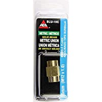 Brass Brake Line Union 6mm (M12x1.0 Bubble) 1/card [並行輸入品]