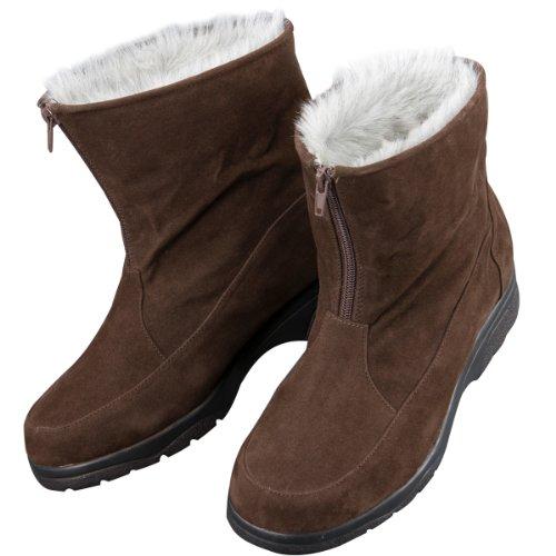 三喜工業 アラスカブーツ ショート Sサイズ 21.5 23.0cm対応  ブラウン