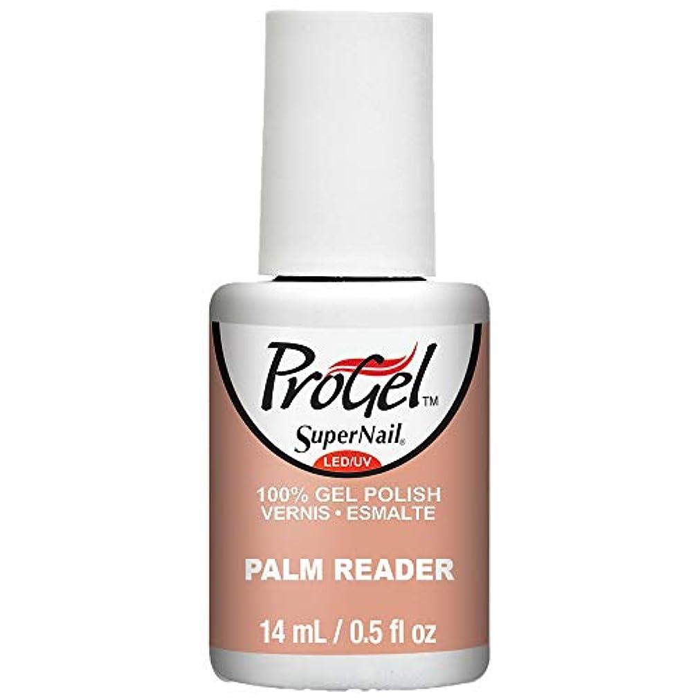 リアル潤滑する神秘的なSuperNail ProGel Gel Polish - Palm Reader - 0.5oz / 14ml