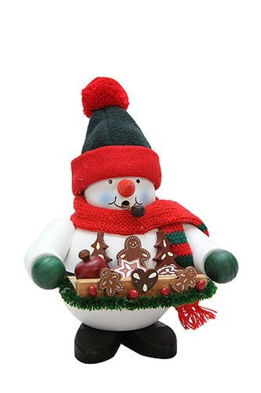 ブロンズベアリングサークル額ドイツ語喫煙者Incense Gingerbread雪だるま – 44.45 CM / 7インチ – Christian Ulbricht