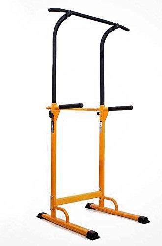 WASAI(ワサイ)ぶら下がり健康器 懸垂マシン 背筋運動 30W 筋肉伸ばし (イエロー)