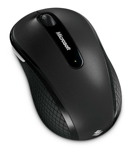 マイクロソフト ワイヤレス ブルートラック マウス Wireless Mobile Mouse 4000 ストーン ブラック D5D-00014