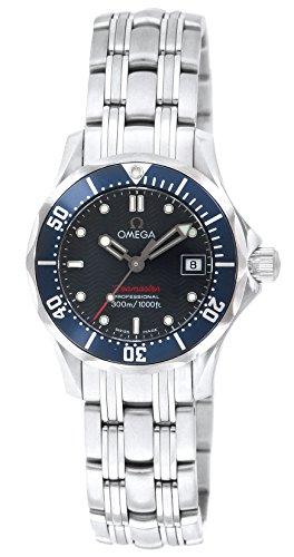 [オメガ]OMEGA 腕時計 シーマスター300M ブルー文字盤 300M防水 ダイバーズ 2224.80 レディース 【並行輸入品】