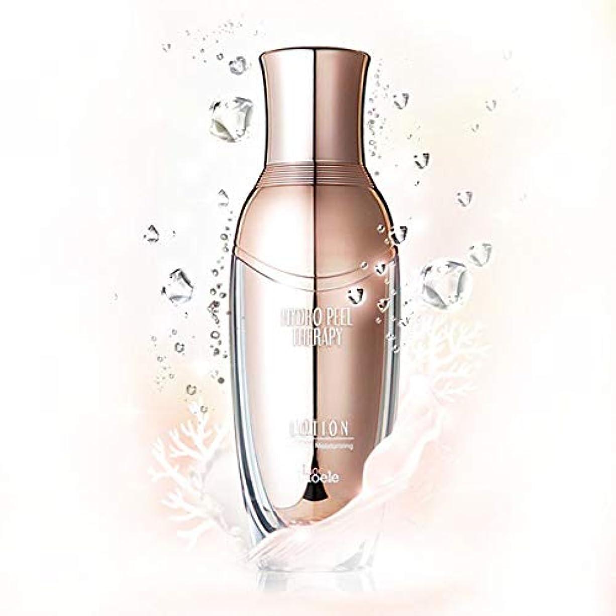 背骨役員試験Lioele (リオエリ) ハイドロ ピール テラピー ローション / 海洋深層水の豊富なミネラルでさっぱり溶け込むローション / Hydro Peel Therapy Lotion (120ml) [並行輸入品]