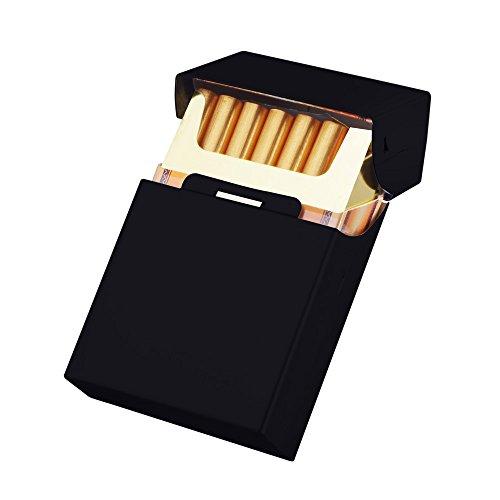 シガレットケース/タバコケース/煙草ケース/アルミケース 20P (黒い)