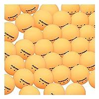 QINRUIKUANGSHAN ピンポンピンポンボール高弾性トレーニングトレーニングボールに耐性ピンポンボールプロの競争 (Color : B)