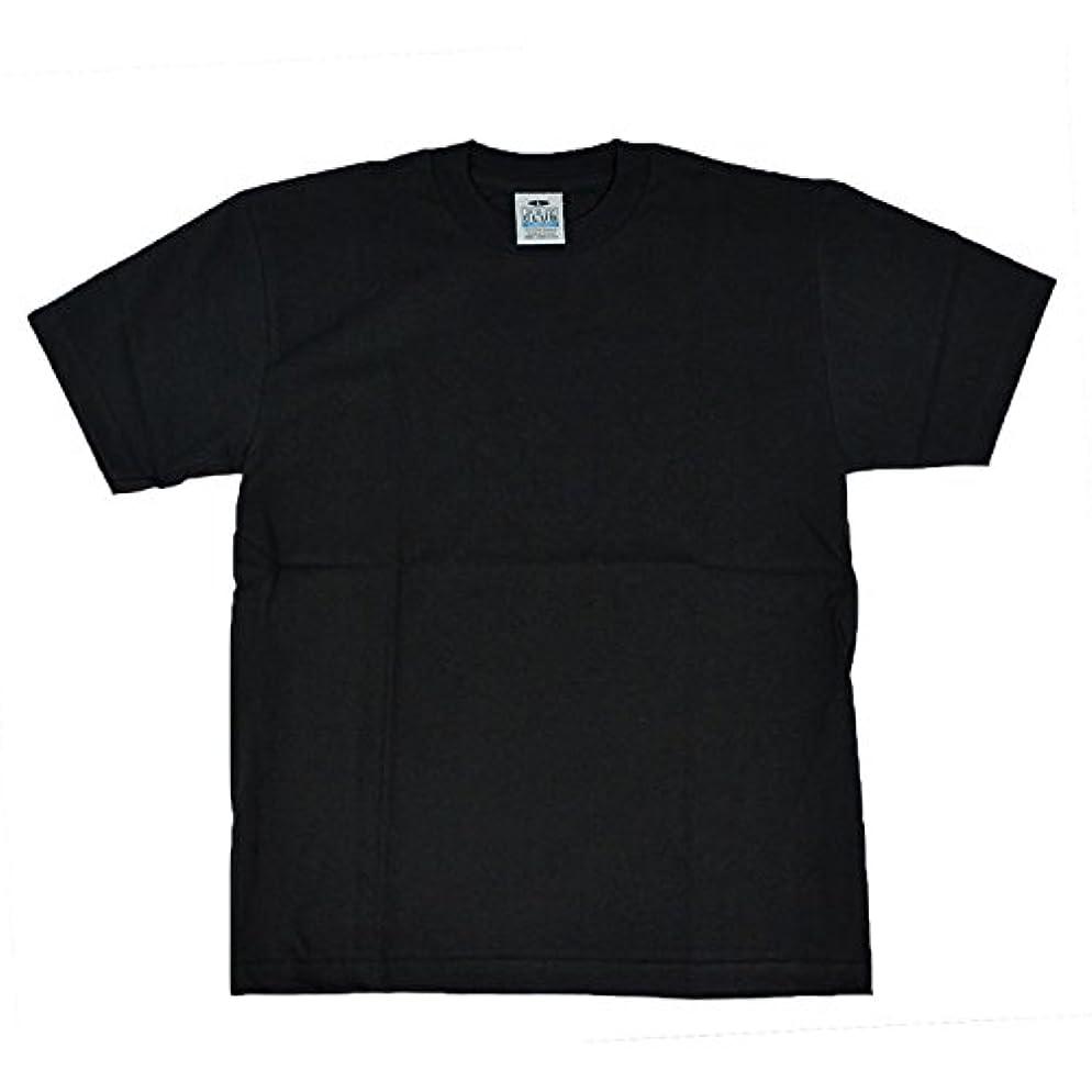 ふくろう大砲遵守する(プロクラブ) PRO CLUB Tシャツ メンズ レディース 半袖 薄手 綿100% 無地 クルーネック 丸首 ホワイト ブラック コンフォート 肌着 シンプル
