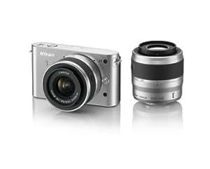Nikon ミラーレス一眼カメラ Nikon 1 (ニコンワン) J1 (ジェイワン) ダブルズームキット シルバー N1 J1WZ SL