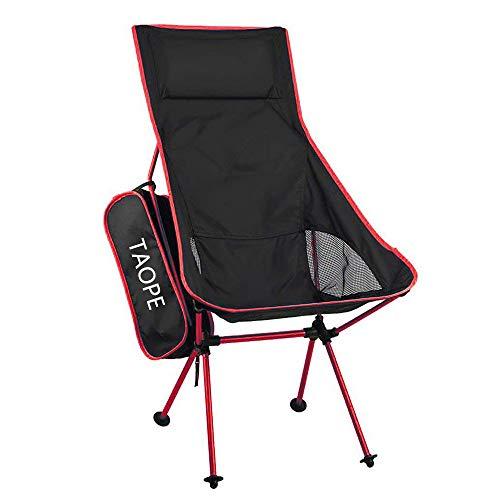 アウトドアチェア コンパクト 折りたたみ 軽量 耐荷重150kg アウトドア椅子 キャンプ携帯便利 ハイキング お釣り ビーチ チェア航空アルミ合金 背もたれ フィットチェア ハイバックタイプ