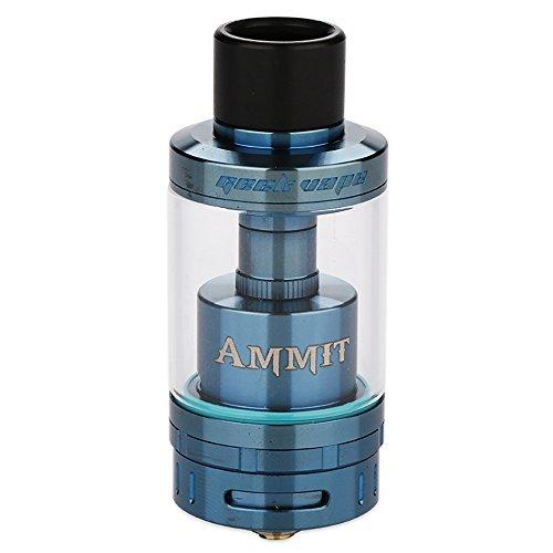 GeekVape Ammit 25 強化された3Dエアフローシステムとシングルコイル構築デッキを備えた容量2mlの再構築可能なタンクアトマイザー2ml (Blue)