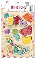 Bo Bunny Press - Ambrosia Collection - 3 Dimensional Stickers with Jewel Accents by Bo Bunny