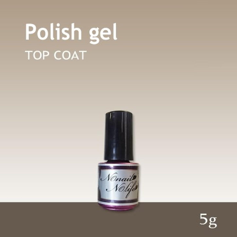 悩みピストン受け入れジェルネイル《爪に優しいトップコートジェル》Natural Polish ポリッシュトップジェル(5g)