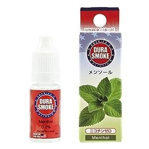 DURASMOKE 電子タバコ リキッド メンソール 10ml