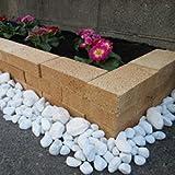 レンガ花壇 つむつむレンガセット サフランイエロー 9個セット