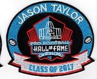 Jason Taylorパッチ2017Proフットボール殿堂Dolphins Redskin Superbowl Hof