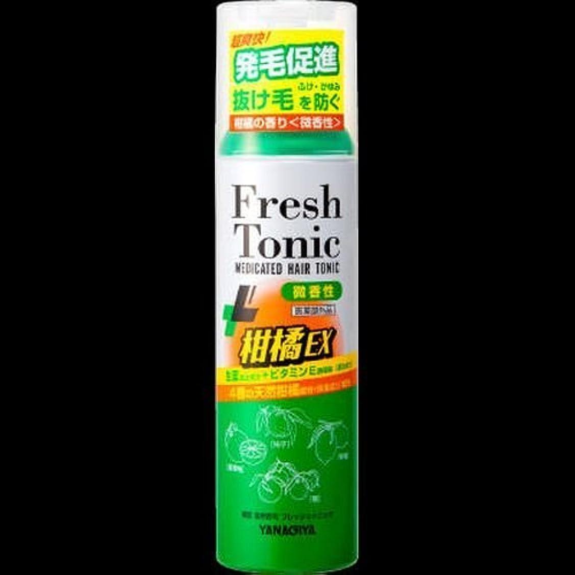 コックスパイ南東【まとめ買い】柳屋 薬用育毛 フレッシュトニック 柑橘EX <微香性> 190g ×2セット